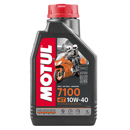 ACEITE 4 TIEMPOS MOTUL 7100 10W40 1L SINTETICO