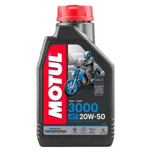 ACEITE 4 TIEMPOS MOTUL 3000 20W50 1L MINERAL