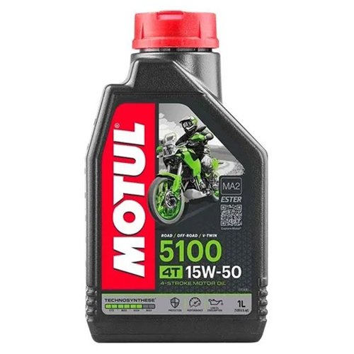 ACEITE 4 TIEMPOS MOTUL 5100 15W50 1L TECHNOSYNTHESE