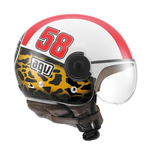 CASCO ABIERTO AGV CITY BALI COPTER L GRAFICO