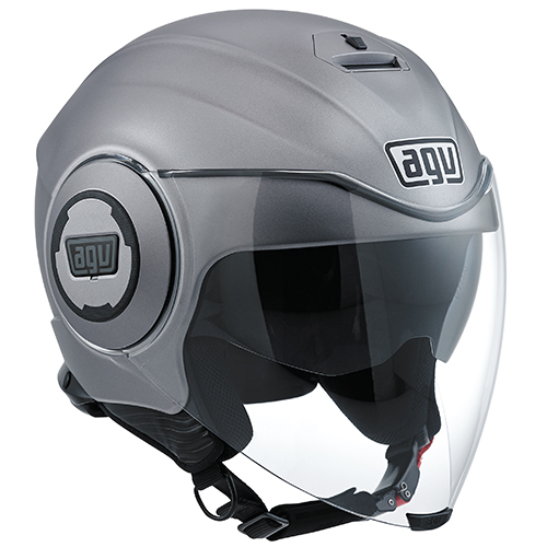 CASCO ABIERTO AGV CITY FLUID E2205 SOLID MONO M GRS/MATE