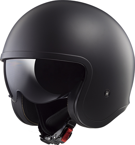 CASCO ABIERTO LS2 SPITFIRE SOLID L NGO/MATE OF599