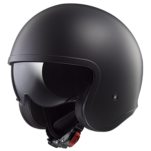 CASCO ABIERTO LS2 SPITFIRE SOLID XXL NGO/MATE OF599