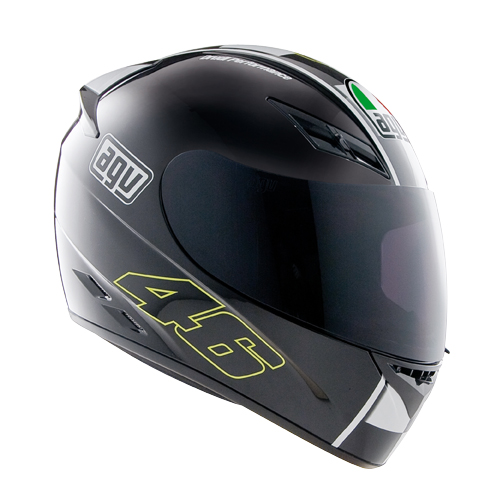 CASCO CERRADO AGV K-3 TOP CELEBR-8 M NGO