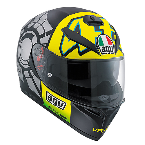 CASCO CERRADO AGV K-3 SV E2205 TOP-WINTER TEST 2012 XL NGO/GRS/AMA PINLOCK