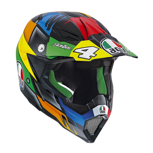 CASCO CROSS AGV AX-8 EVO E2205 REPLICA L CHAREYRE
