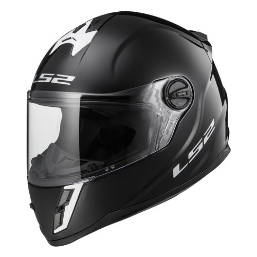 CASCO JUNIOR LS2 SINGLE MONO L NEGRO FF392.3 CERRADO