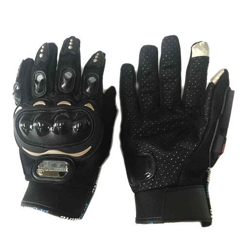 GUANTES VEL PROMOTO L NEGRO MOD. 2N TOUCH/LIMPIADOR MICA