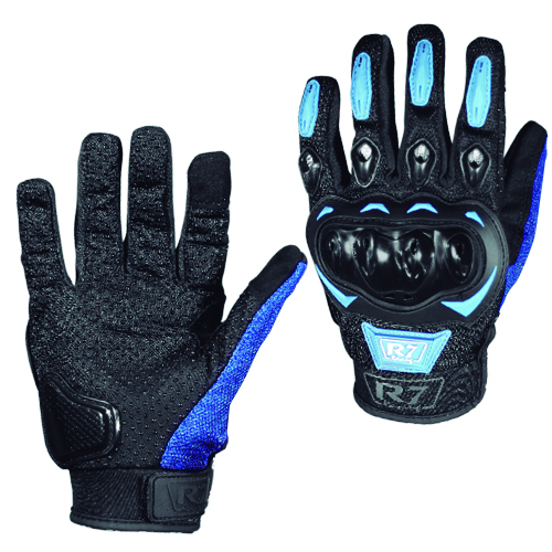 GUANTES VEL R7 RACING L AZUL R7-2 TOUCH