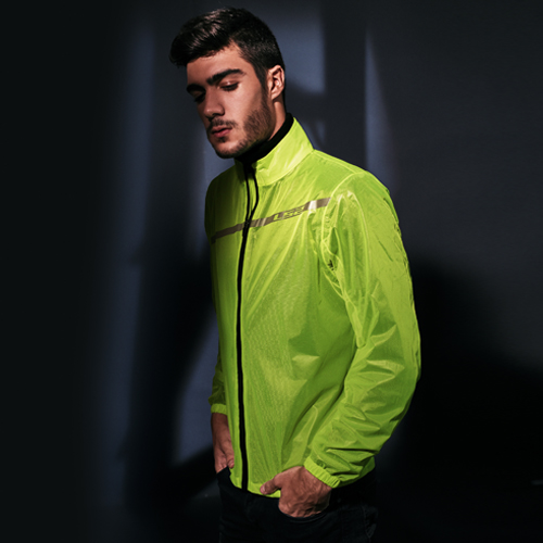 IMPERMEABLE LS2 L AMARILLO FLUO COMMUTER MAN
