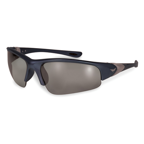 LENTES SOL GLOBAL VISION COOL BREEZE UNITALLA AZUL MICA NEGRO