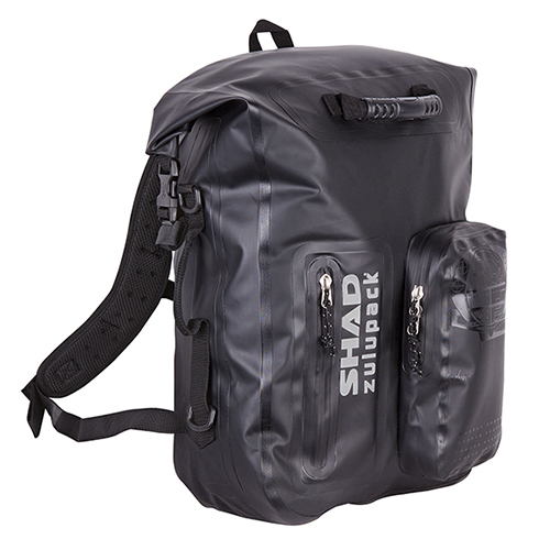MALETA PERSONAL SHAD SW35 ZULUPACK 35 LTS NEGRO CONTRA AGUA